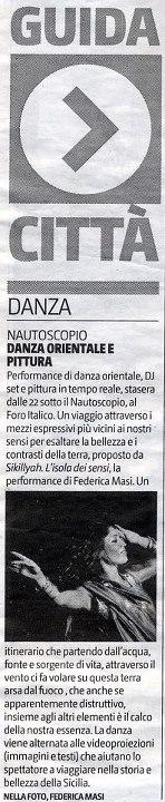 Copia de GIORNALE DI SICILIA 2012