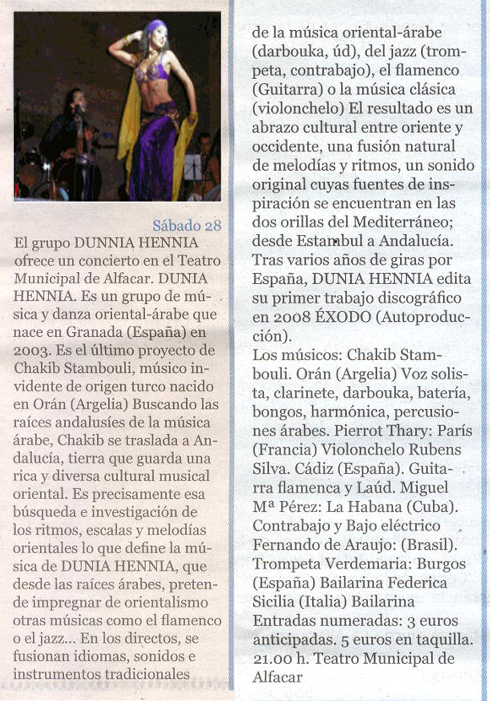 Diario Opinion Genil Cultural